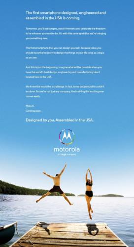 Реклама Motorola