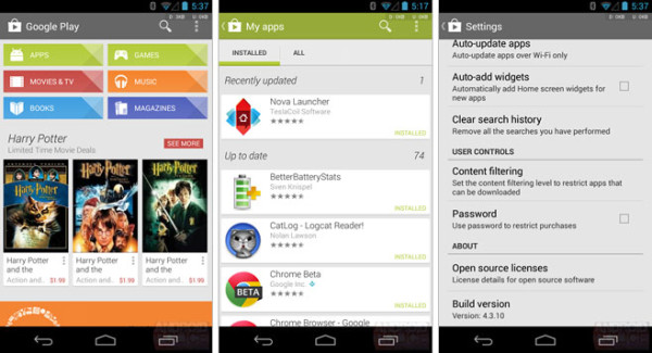Google Play 4.3