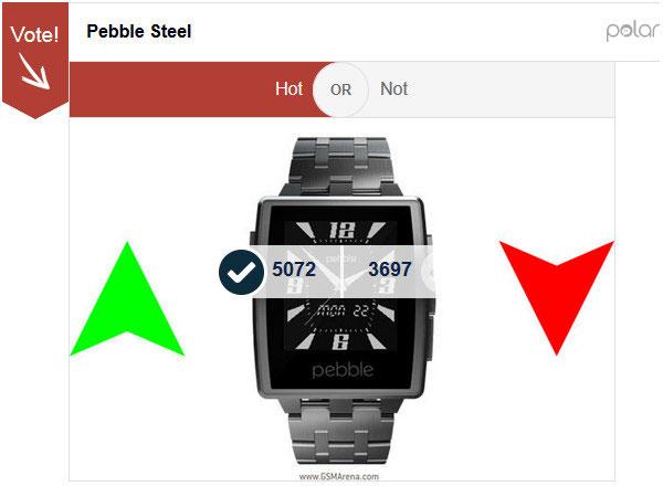 Pebble Steel